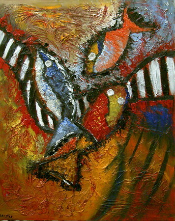 Abstract Fish II - sold