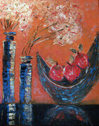 Apples and vases - sold